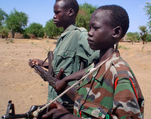 african child soldier essay