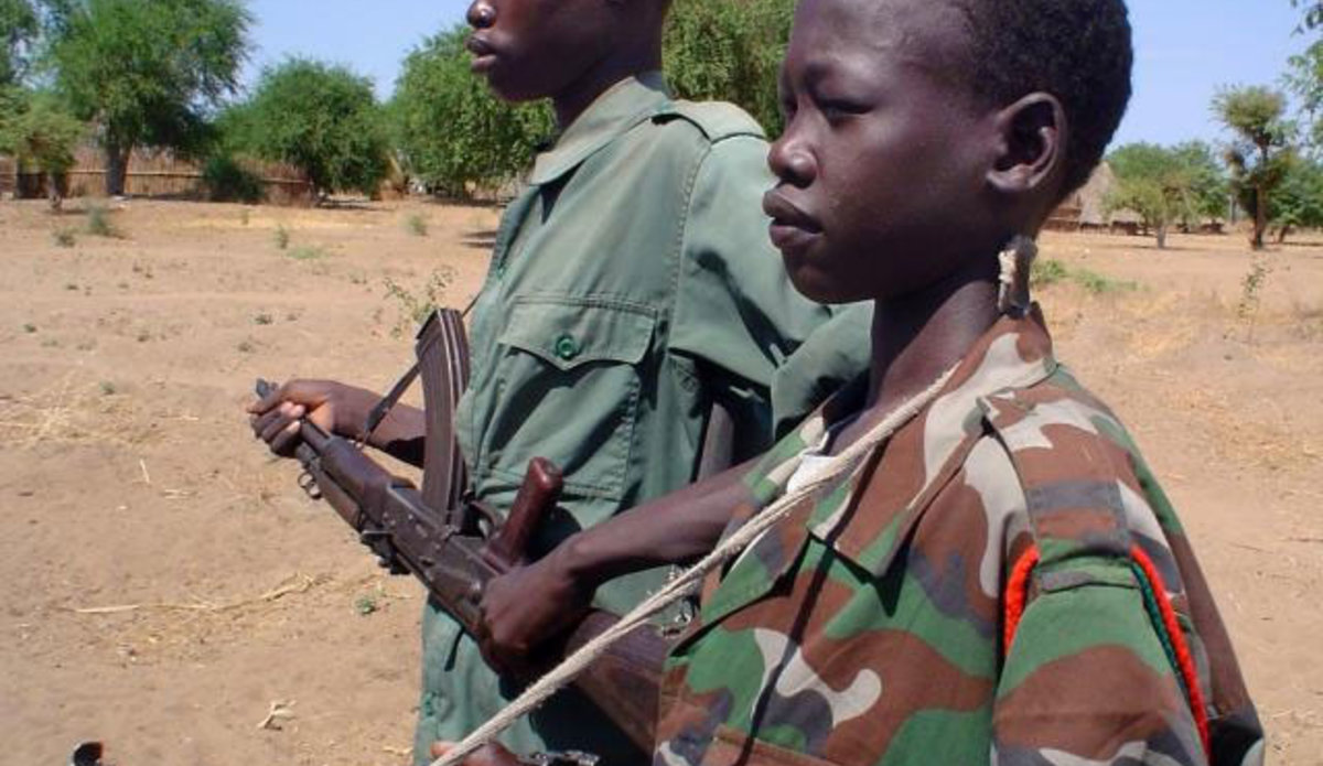 6,000 child soldiers fighting in the Central African
