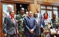 Rencontre entre des représentants de la communauté internationale et la CPJP