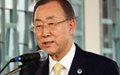 Centrafrique : c'est maintenant qu'il faut aider le pays, déclare Ban Ki-moon