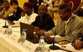 Ouverture du 3ème atelier sur la révision du code électoral (10 Septembre 2012)