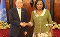 Visite surprise du Secrétaire général en Centrafrique pour que 'le monde n'oublie pas'