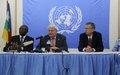 Conférence de presse du SGA aux Opérations de Maintien de la Paix, Hervé Ladsous-03 mai 2014