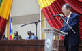 Message du Secrétaire général de l'ONU au Conseil Nationale de Transition