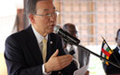 Déclaration à la presse du Secrétaire général de l'ONU, Ban Ki-moon.
