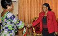 Mme Bangura  en RCA pour le suivi des engagements pris dans la lutte contre les violences sexuelles