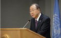 Ban reiterates call for end to inter-communal violence in Central African Republic