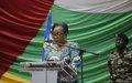 La MINUSCA réitère son engagement à soutenir les efforts de paix et de réconciliation des autorités
