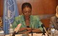 La chef de l'humanitaire de l'ONU appelle à une plus grande sécurité et à la protection de tous