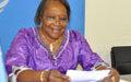 Intervention de Mme Vogt à la conférence de presse  du  21 septembre 2012