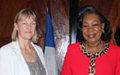 Reçue par le Chef d'Etat de Transition, Mme Kaarina Immonen annonce la fin de sa mission en RCA