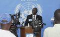 Conférence de presse du Représentant spécial du Secrétaire général de l'ONU en RCA