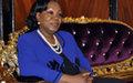 Catherine Samba-Panza qualifie d'inadmissible le grave incident de mercredi dernier à Bangui